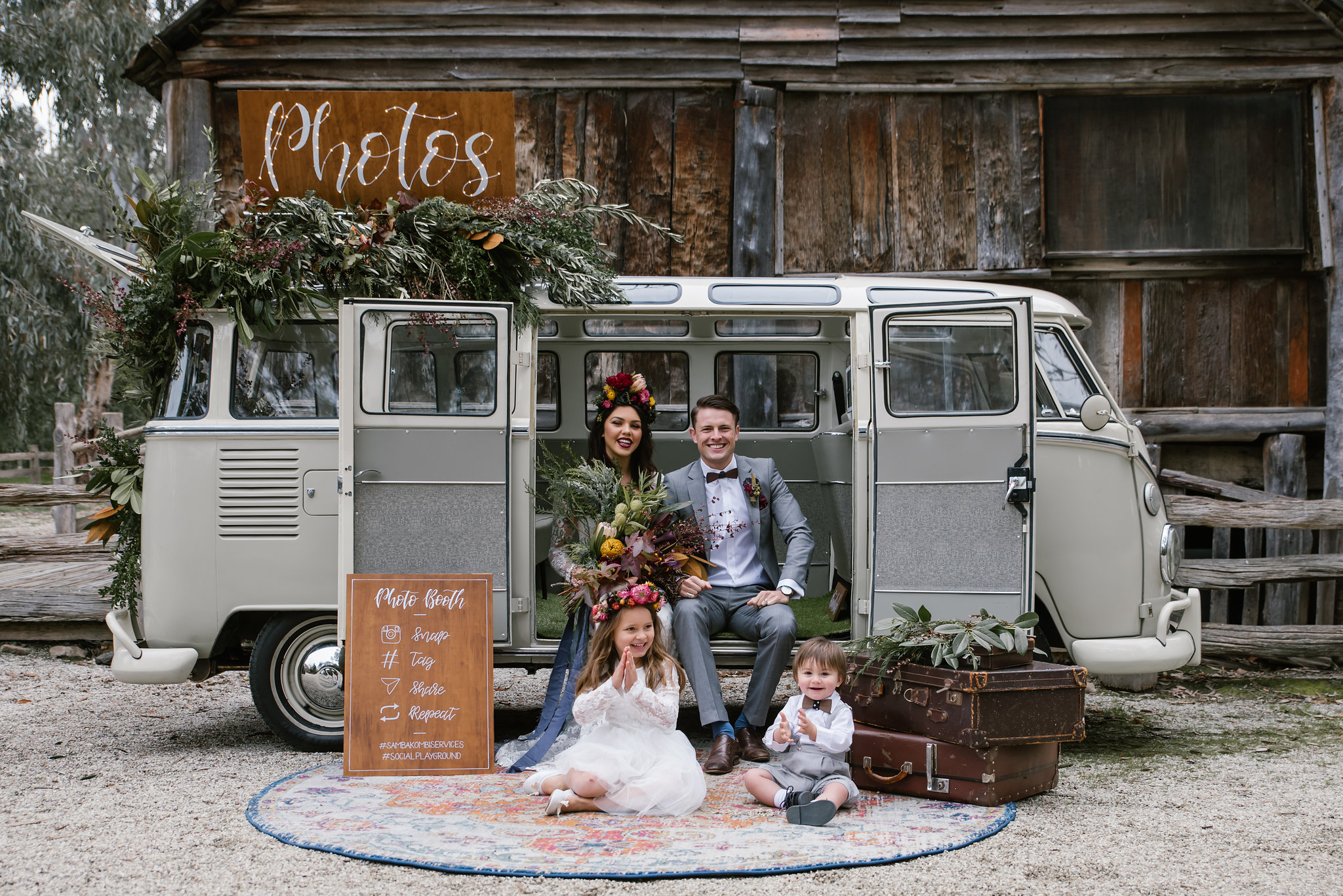 kombi wedding hire
