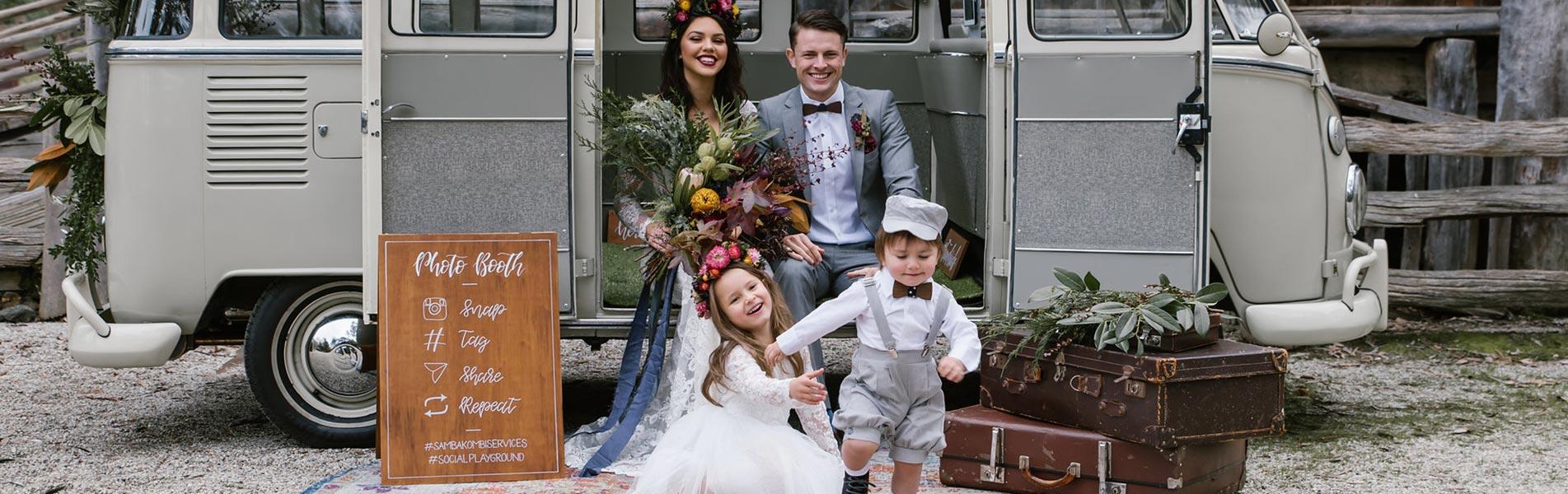 kombi hire wedding